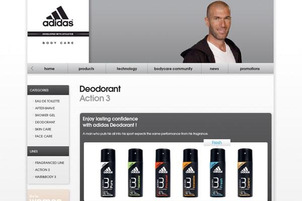 Adidas Bodycare